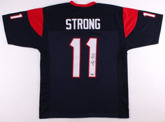 Jaelen Strong Signed Texans Jersey (TriStar) First-team All-Pac-12 (2014)