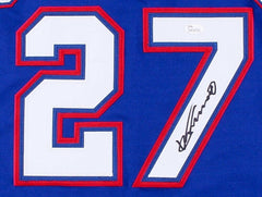 Vladimir Guerrero Signed Rangers Jersey (JSA COA) A.L. Most Valuable Player 2004