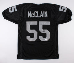 Rolando McClain Signed Raiders Jersey (JSA & Absolute Authentics COA) Cowboys