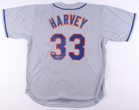 Matt Harvey Signed Mets Jersey / New York Met 2012-Present / Beckett COA