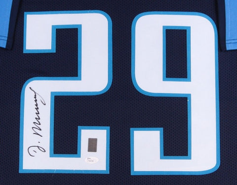 DeMarco Murray Signed Titans 35x43 Custom Framed Jersey (JSA COA & Murray Holo)