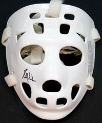 Grant Fuhr Signed Throwback Goalie Mask (JSA Hologram) NHL Hall of Fame in 2003