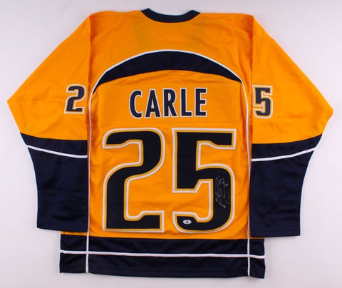 Matt Carle Signed Predators Jersey (Beckett) Playing career 2005–2016