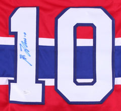 Guy Lafleur Signed Canadiens Hockey Jersey (JSA COA)