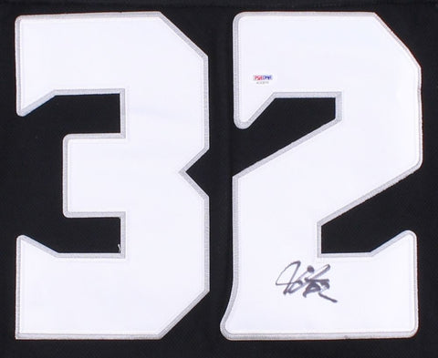 Jonathan Quick Signed Kings Jersey (PSA) 2X Stanley Cup Champ Goalie 2012 & 2014