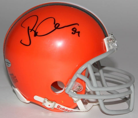 Jordan Cameron Signed Browns Mini Helmet (Leaf COA) Cleveland's top Draft Pick