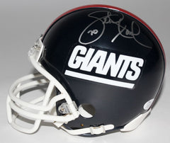 Leonard Marshall Signed Giants Mini Helmet  (JSA ) 1986 &1990 Super Bowl Champs