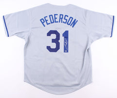 Joc Pederson Signed Los Angeles Dodgers Jersey (Schwartz COA) 2015 NL All Star