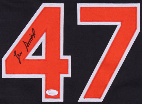 Lee Smith Signed Baltimore Orioles Jersey (JSA COA) 478 Saves 1022 games pitched