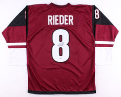 Tobias Rieder Signed Coyotes Jersey (Beckett COA) All Star Right Winger