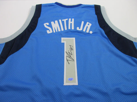 Dennis Smith Jr Signed Dallas Mavericks Jersey / 9th Overall Pick 2017 NBA Draft