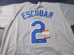 Alcides Escobar Signed Royals Jersey / World Series Champion 2015/ 2015 All Star