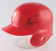Ryan Howard Signed Phillies Mini-Helmet (JSA COA) 3× All-Star (2006, 2009, 2010)