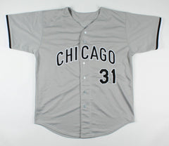 Jose Canseco Signed Chicago White Sox Jersey (JSA COA) 1986 A.L. Rookie of Year