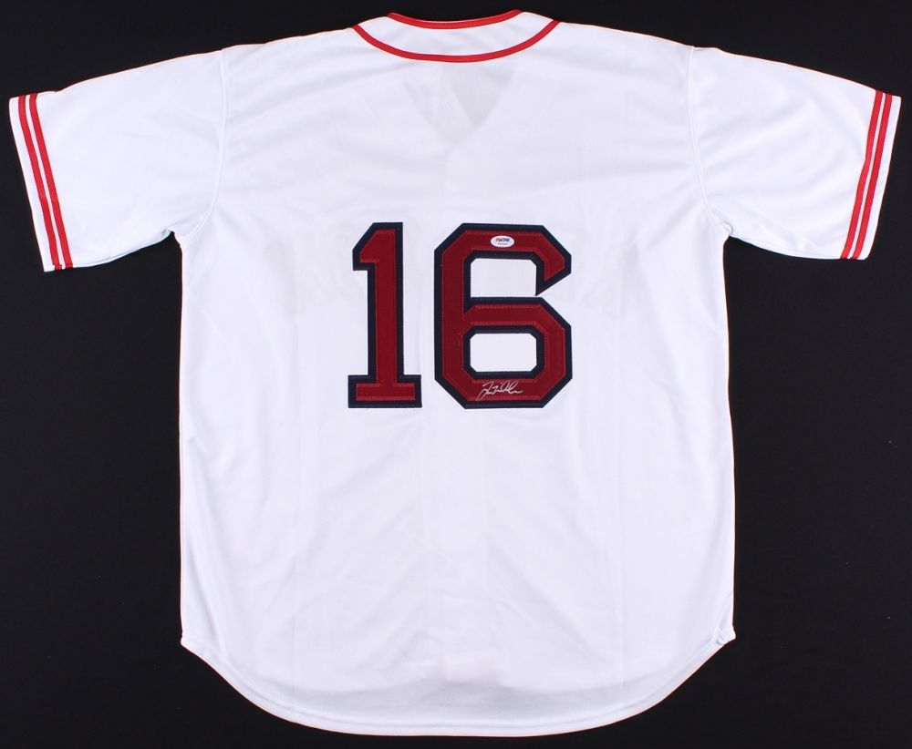Will Middlebrooks Signed Boston Red Sox Jersey (PSA COA)