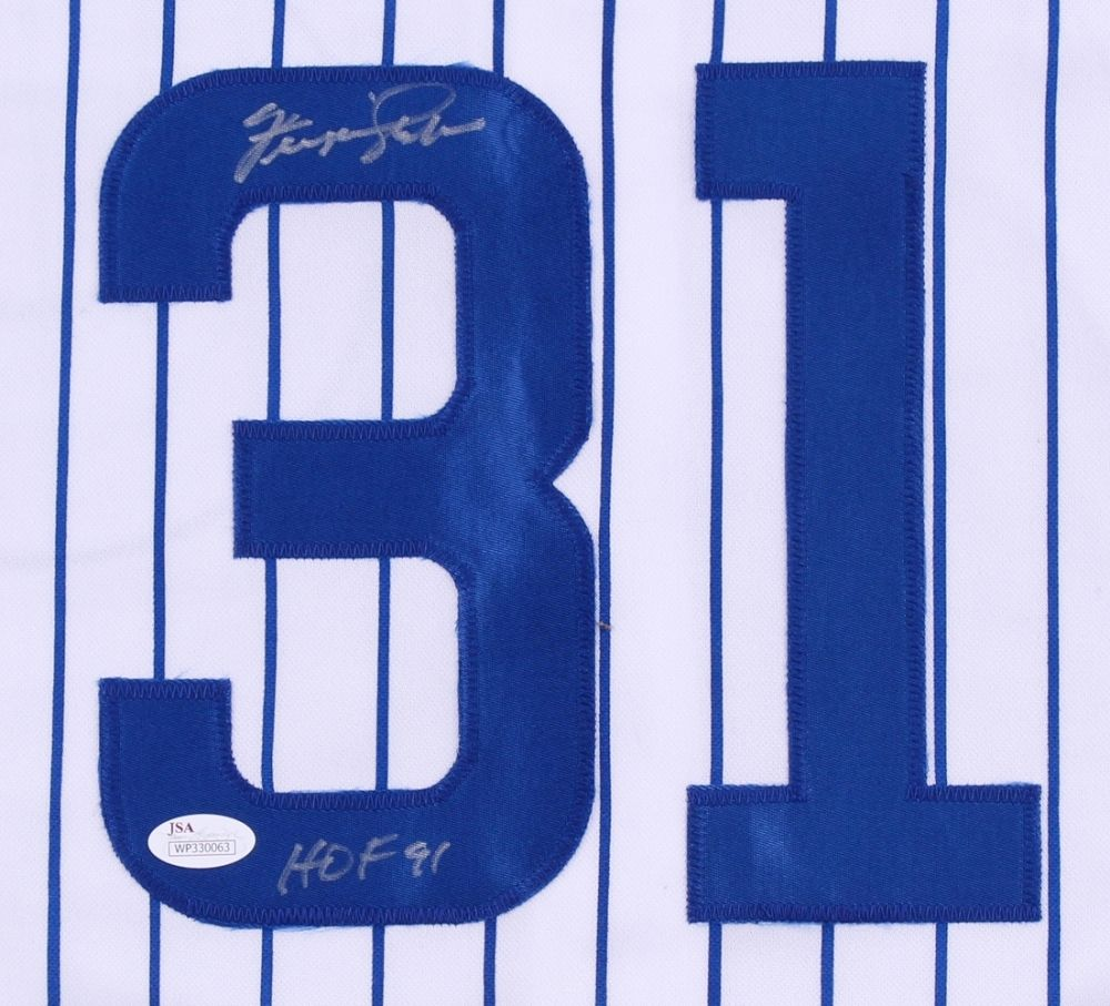 Fergie Jenkins Signed Cubs Jersey / 3× All-Star (1967, 1971, 1972) / 1969 K LDR