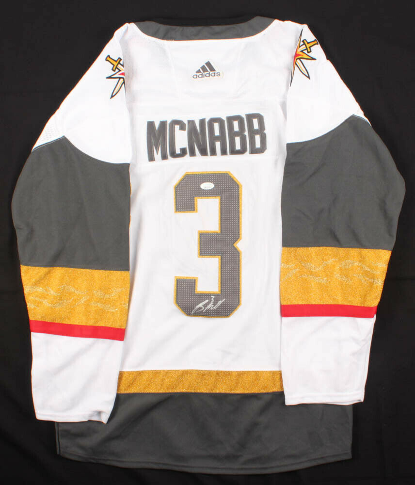 Brayden McNabb Signed Golden Knights Adidas NHL Jersey (JSA COA) Vegas Defense