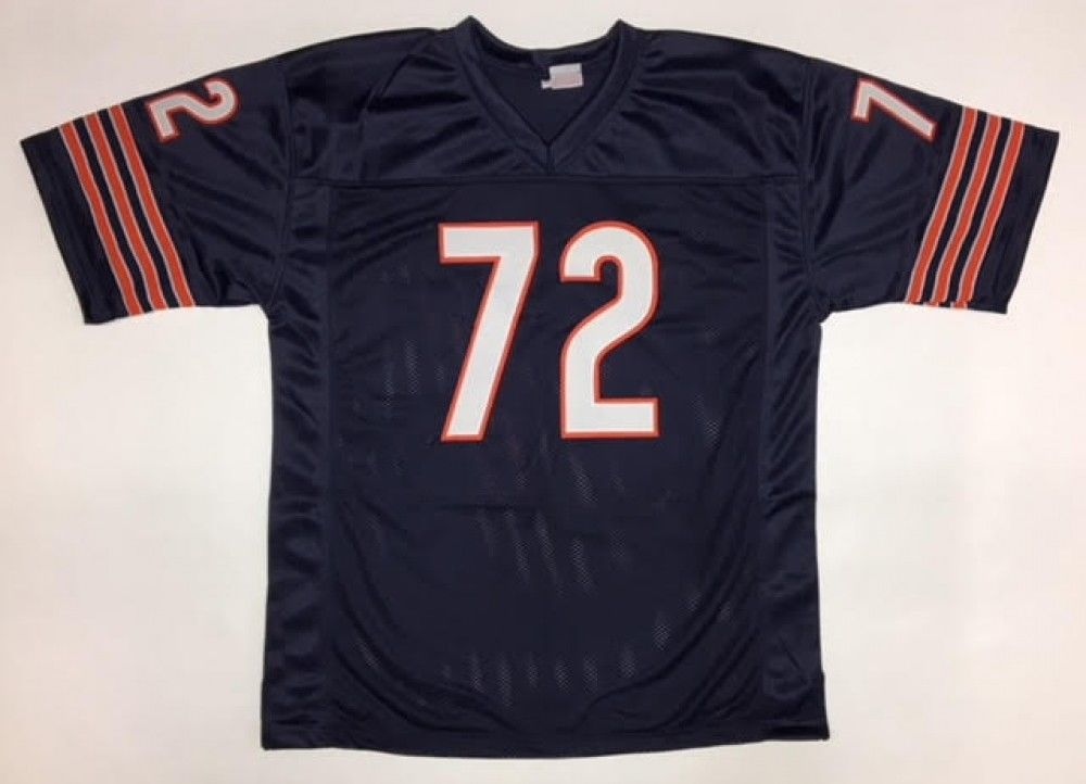 William Perry Signed Bears Jersey (JSA) Super Bowl XX DE & Full Back / Scored TD
