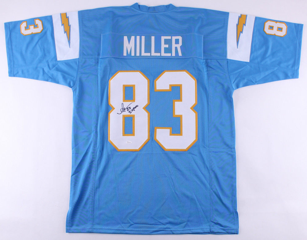 "Anthony Miller Signed Chargers Jersey Inscribed ""5x Pro"" (JSA COA) Wide Receiver"