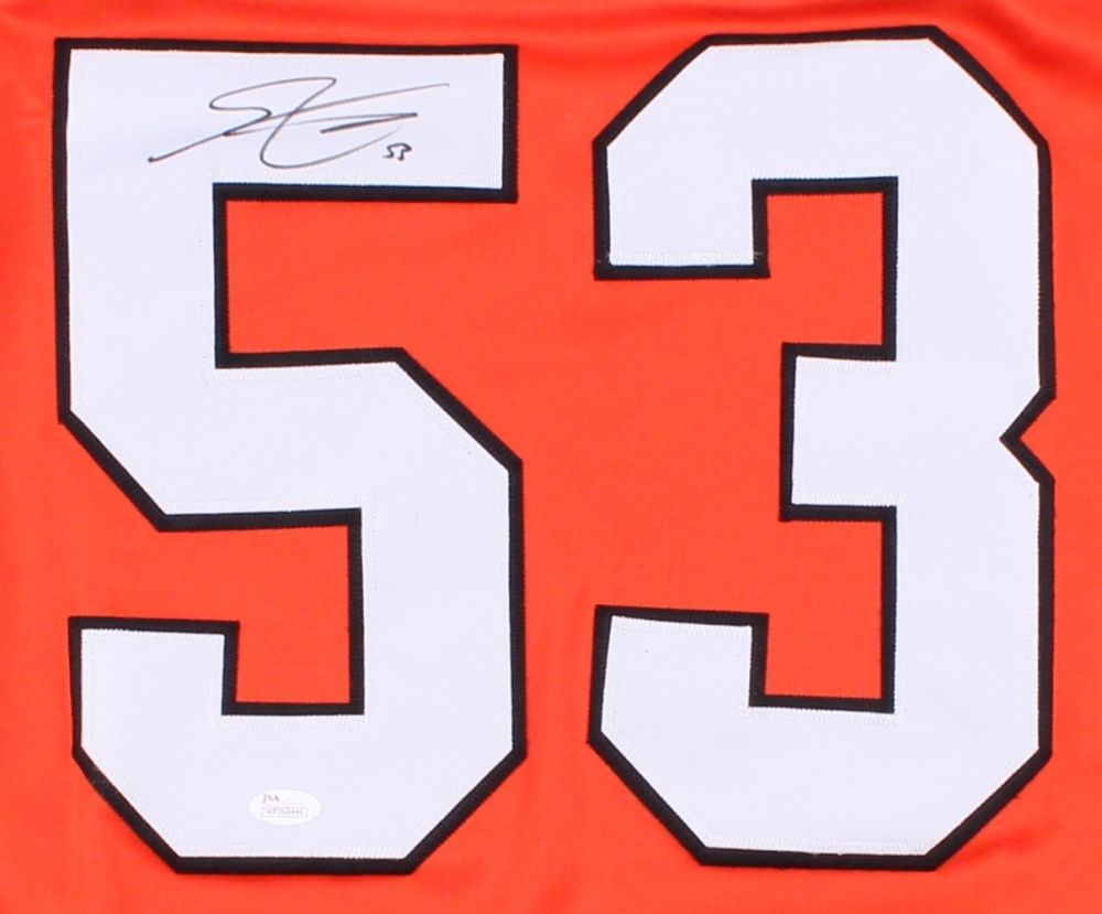 cheap for discount 1cb50 a55a9 Shayne Gostisbehere Signed Flyers Jersey (JSA COA) NHL All Rookie Team /  2015–16