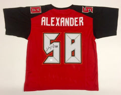 Kwon Alexander Signed Buccaneers Jersey (JSA COA) Tampa Bay All Pro Linebacker
