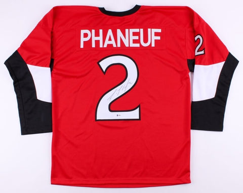 Dion Phaneuf Signed Senators Jersey (Beckett) Playing career  2005–present