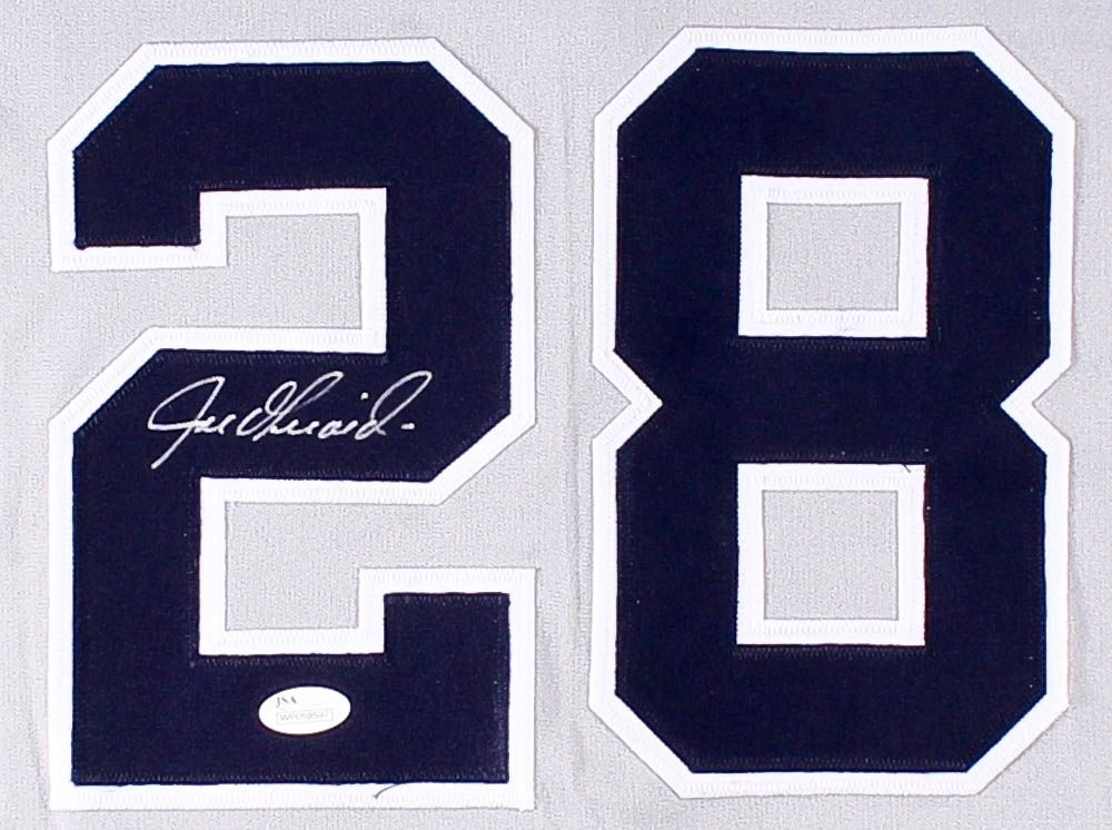 Joe Girardi Signed New York Yankees Jersey (JSA COA) Bronx Bombers Manager