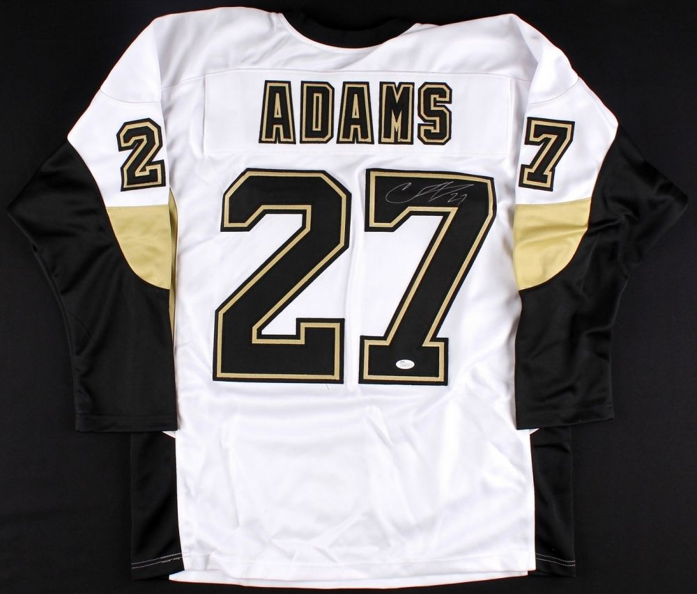 new style 2b00e 001d9 Craig Adams Signed Pittsburgh Penguins Jersey (JSA)