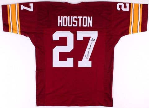 Kenny Houston Signed Redskins Jersey Inscribed HOF 86 (JSA) 12× Pro Bowl Safety