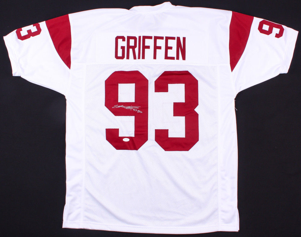 free shipping 31231 34b47 Everson Griffen Signed USC Trojans Jersey Inscribed