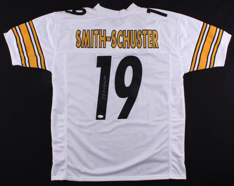 JuJu Smith-Schuster Signed Steelers Jersey (TSE) 2017 Pittsburgh 2nd Round Pick