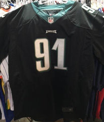 Fletcher Cox Signed Philadelphia Eagles Black Jersey / 3× Pro Bowl (2015–2017)