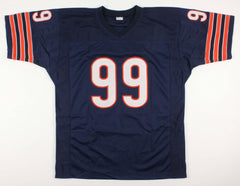 "Dan Hampton Signed Chicago Bears Jersey Inscribed ""HOF 2002"" & ""Danimal"" JSA COA"
