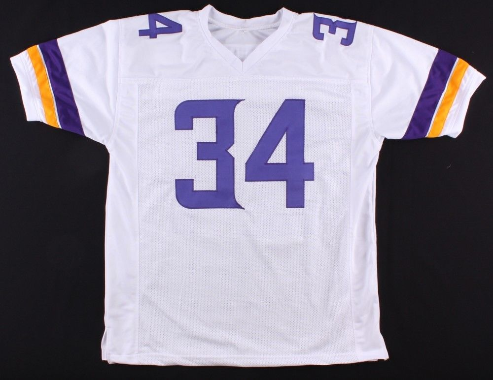 Andrew Sendejo Signed White Home Jersey (TSE Hologram) Strong Safety