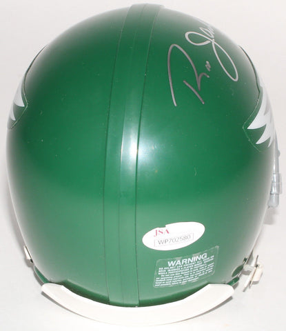 Ron Jaworski Signed Philadelphia Eagles Green Mini Helmet (JSA COA)