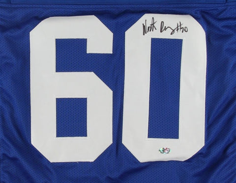 Weston Richburg Signed Giants Jersey (FCA COA) New York Center (2014–present)