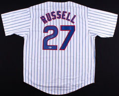 Addison Russell Signed Pinstripped Chicago Cubs Jersey (Beckett) 2016 All Star