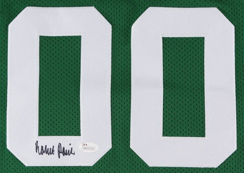 Robert Parish Signed Celtics Jersey (JSA) 4× NBA champion (1981,1984,1986,1997)