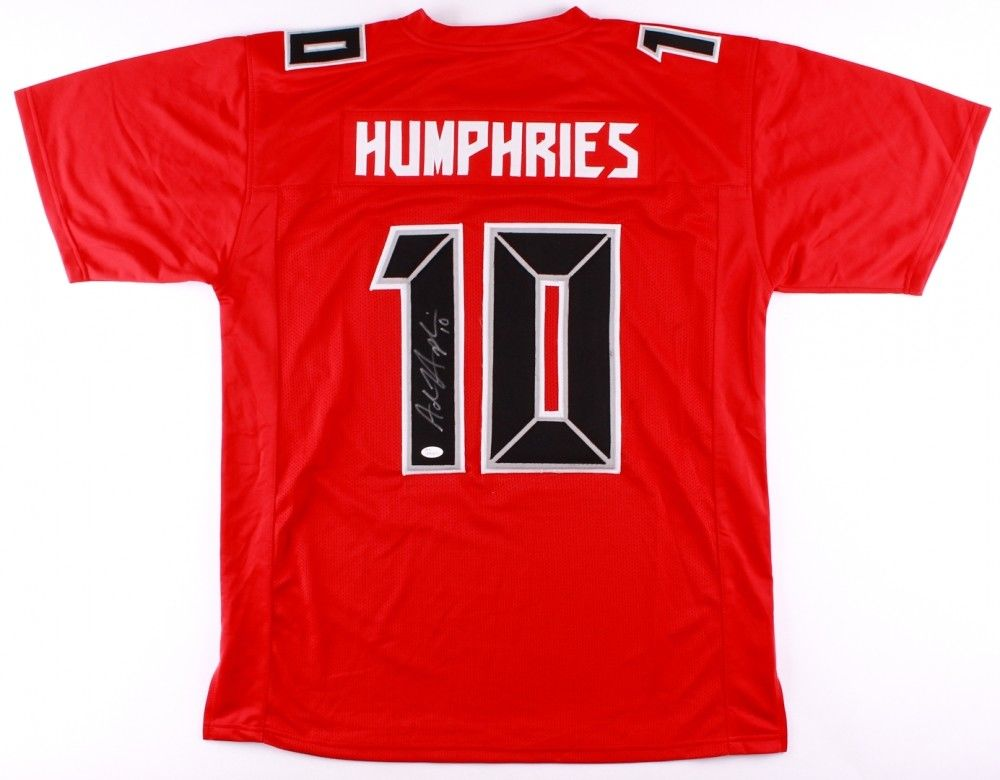 low priced 2cb7b ca4f6 Adam Humphries Signed Buccaneers Jersey (JSA COA) Tampa Bay Wide Receiver