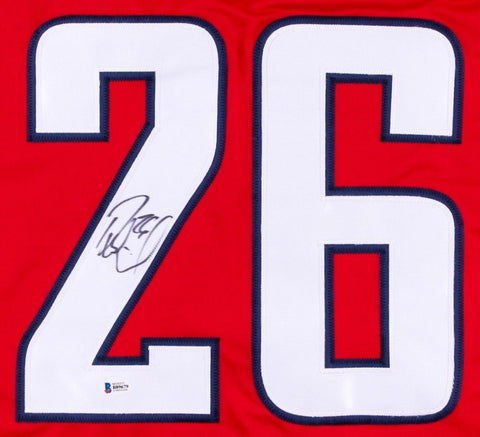 Daniel Winnik Signed Capitals Jersey (Beckett COA) Playing career 2006–present
