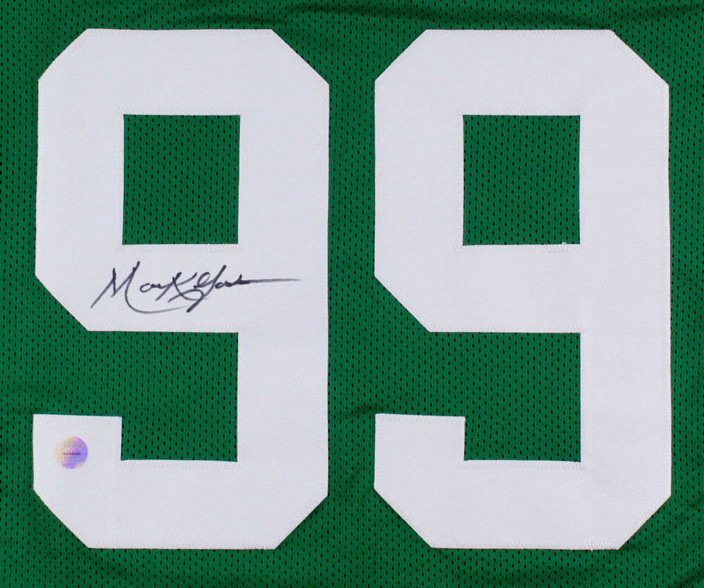 "Mark Gastineau Signed Jets Jersey (GridIron Legends)""The New York Sack Exchange"""