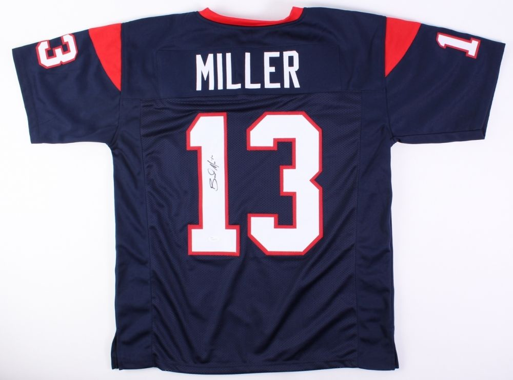 Braxton Miller Signed Houston Texans Jersey (JSA COA) Ohio State Stand Out