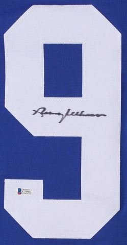 Norm Ullman Signed Toronto Maple Leafs Jersey (Beckett COA) Hall of Fame Center