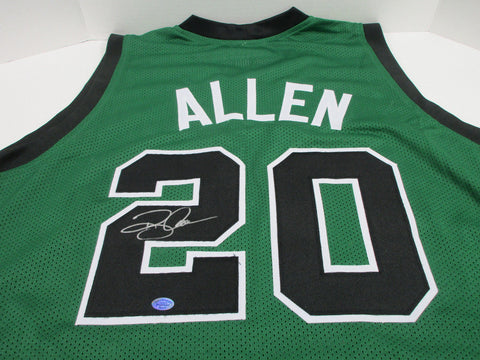 Ray Allen Signed Boston Celtics Jersey / 5th Overall Pick 1996 NBA Draft / COA
