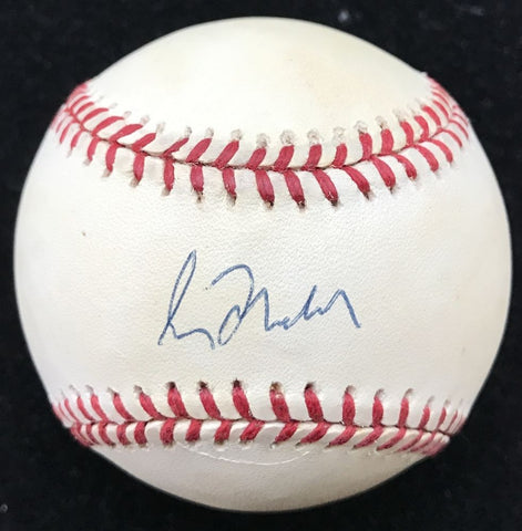 Greg Maddux Signed Braves 1995 World Series Baseball (JSA COA)