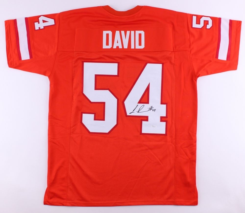 lowest price e55f8 bd9be Lavonte David Creamsicle Signed Buccaneers Jersey (JSA) Tampa Bay Linebacker