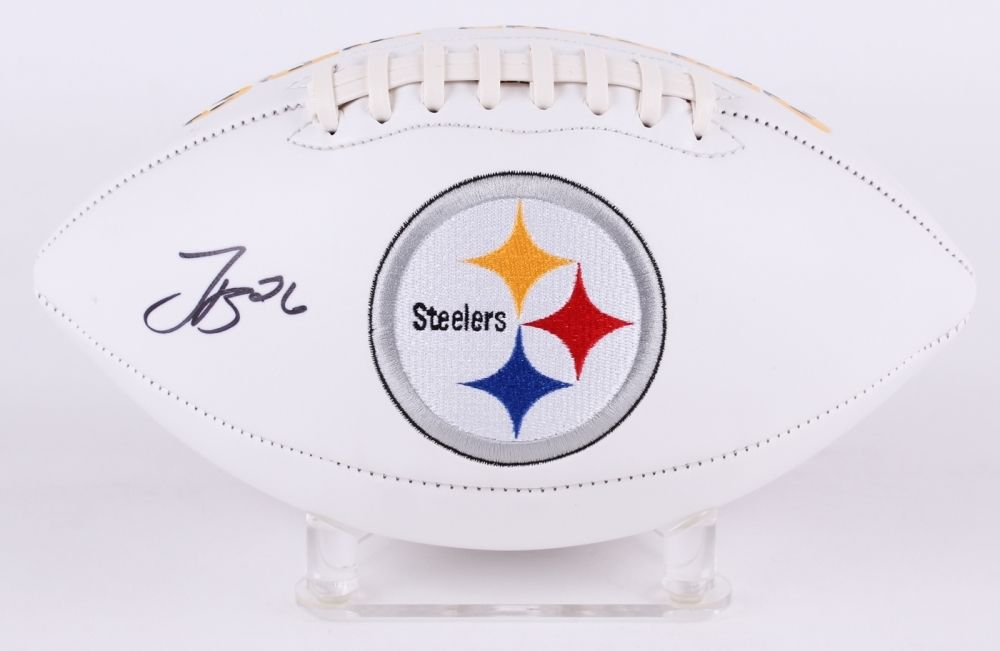 Le'Veon Bell Signed Steelers Team Logo Football (JSA) 2× Pro Bowl (2014, 2016)