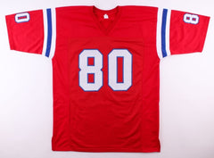 Irving Fryar Signed Patriots Jersey (JSA COA) Super Bowl XX Wide Receiver