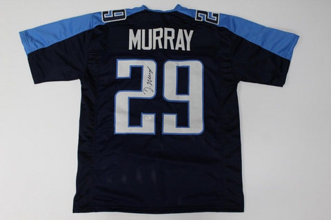 DeMarco Murray Signed Titans Jersey (JSA Hologram) 3× Pro Bowl 2013, 2014, 2016