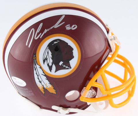 Jamison Crowder Signed Redskins Mini-Helmet (JSA COA)